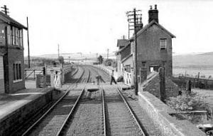 Sunnilaws_Station. About a mile from Wark