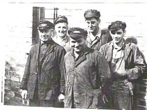 Can anyone name these men who worked at Coldstream  Station