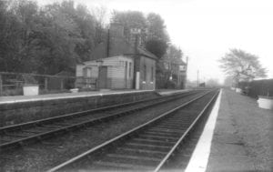 Twizell Station Looking East