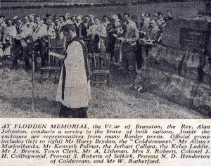 Flodden Memorial in the Parish Church