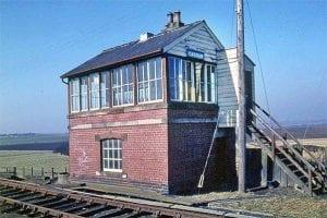Carham station signal box