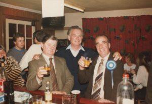 Hugh Campbell, John Gutherie, Harry Swan