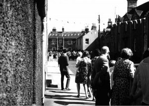 Civic Week 1968 Looking along Leet Street