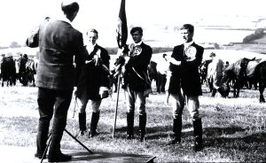 Flodden Field in 1967 Dave Young as Coldstreamer