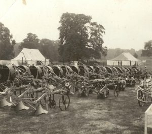 Rutherfords Stand at Kelso Show 1930''s