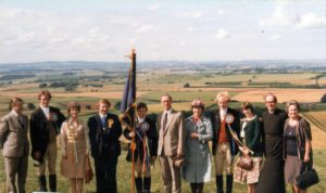 Flodden Derrick Campbell Coldstreamer in the center