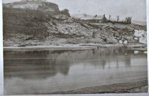Wark Ferry  it went from Wark to Fireburn Mill