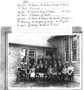 1936 School photograph