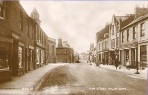 Coldstream High Street looking West