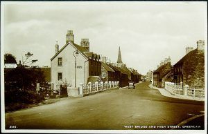Greenlaw, West Bridge and High Street.
