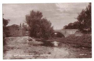 Leesmill and the Leet before the Irish Bridge