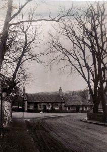Marriage House. It was also the toll house when the bridge was a toll bridge. It was also a pub called the Bridge Inn.