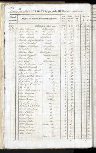 Horse Tax