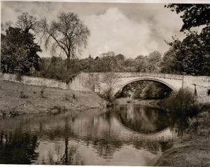 Twizell Bridge before they built the concrete Bridge. This was the Bridge that the Earl of Surrey crossed on that fateful day before the battle of Flodden.