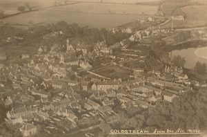 Coldstream from the air 1930