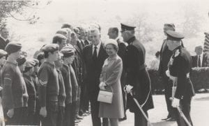 Queens visit to Coldstream