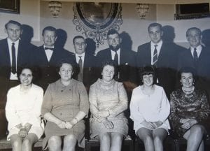 Wark Castle Football Club 1960s Committee  Tillmouth Park Hotel