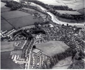 Aerial photograph of Coldstream
