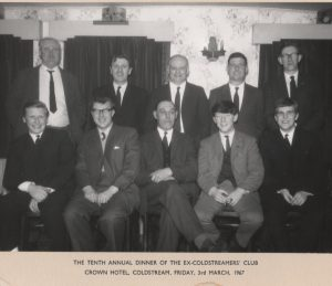 Ex Coldstreamers Dinner 1967