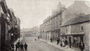 High Street Coldstream looking East. Very early photograph.