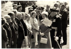 Queens visit to Coldstream 5th July 1984