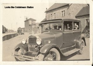 Coldstream Station with the Dickson Family