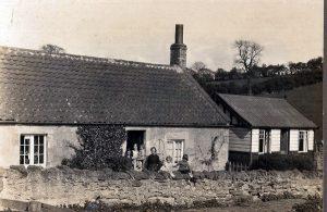 The Brethren meeting House Donaldons Lodge. Now demolished.