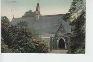 Etal Church in the grounds of Etal Manor