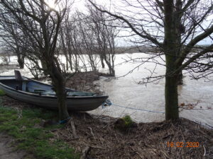 Flood 16-2-  2020 Looking over the Lees