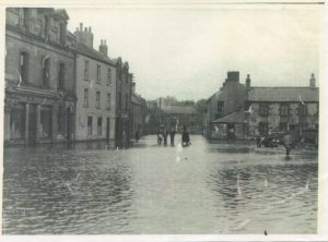 Flood in the Market Square 1948