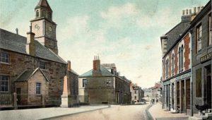 The Parish Church pre 1900 with railing round