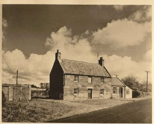 Twizell Red House. The room at the end was for the district nurse
