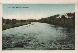 The Craw Green Lennel  On the left was the old golf course.