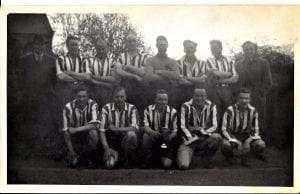 Flodden Cup Winners 1947. Photograph from Jim Green\\r\\nBack Row R/L  A Black, J Green, A Scott, R Moore, R Mitchell, A Whitelaw, D Trotter, A Waite.\\r\\nFront Row R/L C Swan, H Swan, J Rae, T Waite, A Marchbanks.