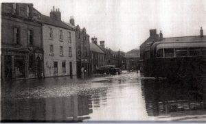 Market Square Flood 1948