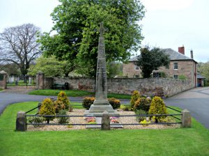 Norham War memorial