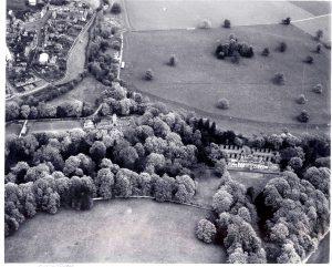 Aerial Lees House