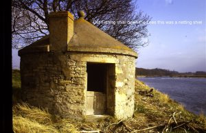 Lees Fishing Shiel. This was for the net fishermen. Nothing left of this building.
