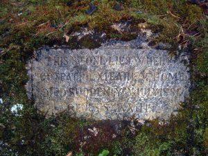The Earl stone