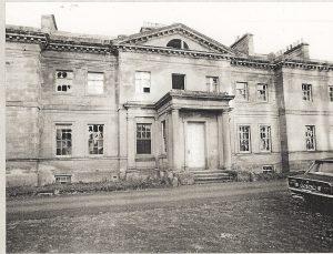 Lees House just before demolition