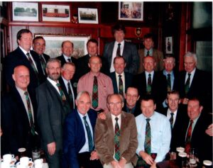 Destiny Dinner held in the Besom Inn every year after the Stone of Destiny came back home to Coldstream 15th November 1996