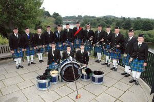 Pipe Band in Henderson Park