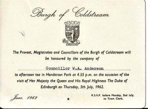 Billy Anderson invite to Queens party in the Henderson park