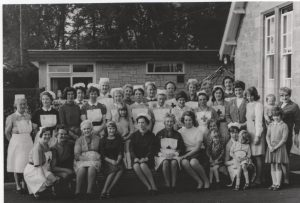 Coldstream Cottage Hospital staff What year and what event ?