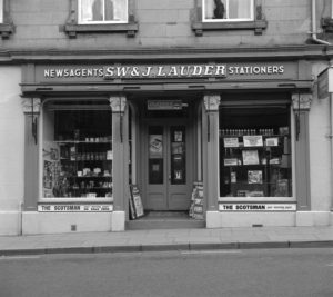 Lauder''s Paper Shop  High Street Coldstream