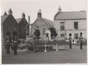 Coldstream Guards in the Market Square