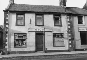 Willie Ford the Barber''s shop High Street