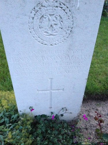 Second Lieutenant Henry Taggart