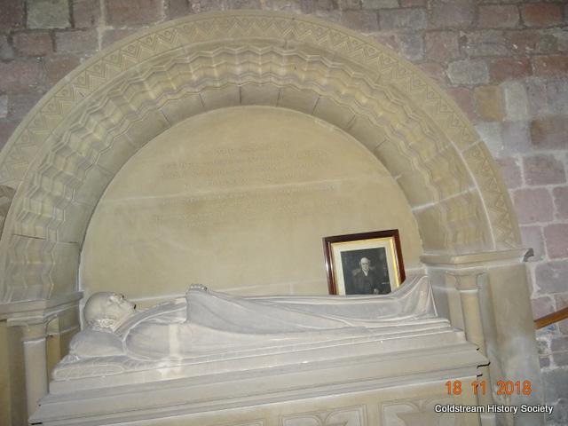 Norham Church Interior - Gilly