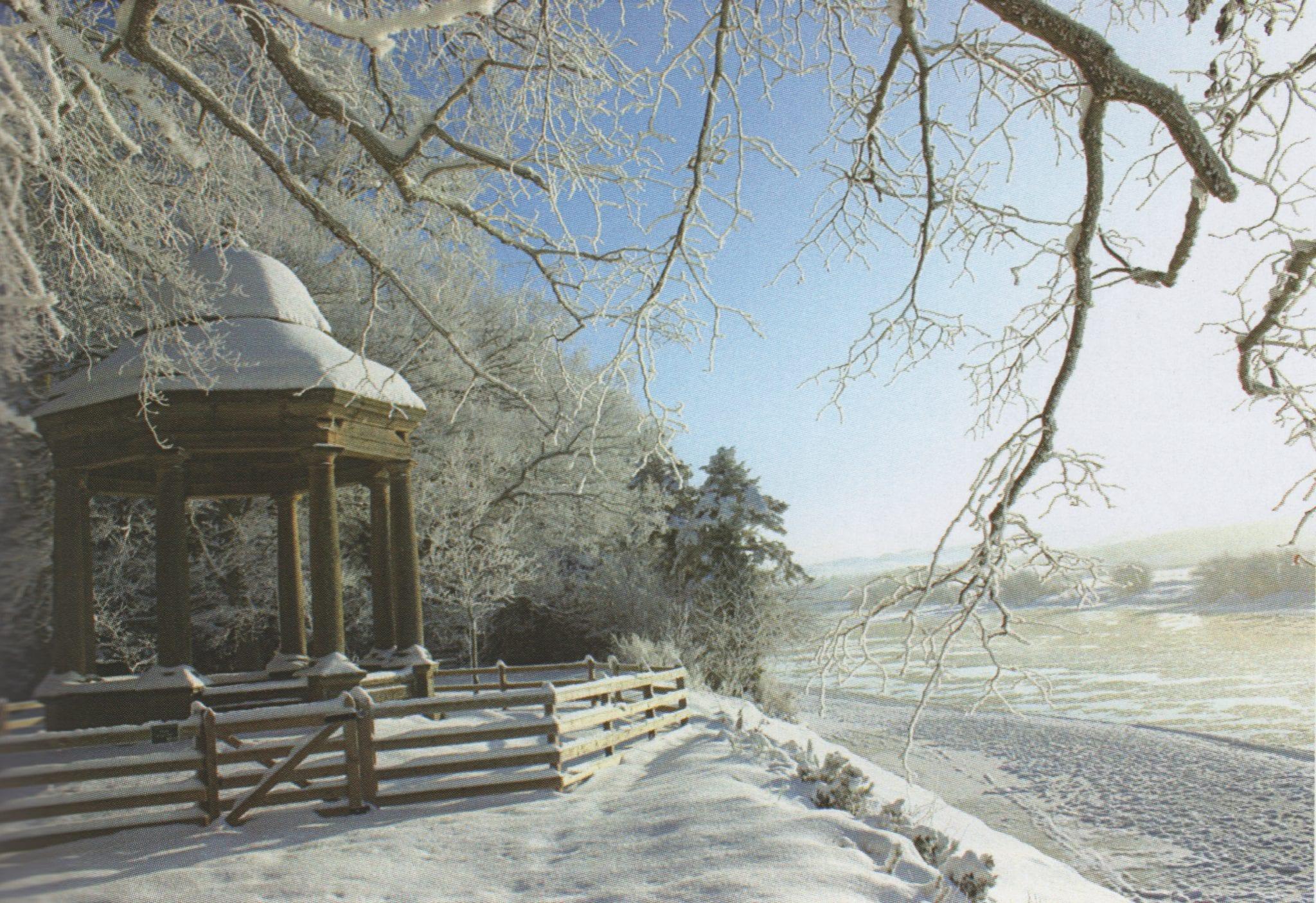 Lees Temple in Snow